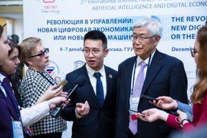 Налажены партнерские отношения ГУУ и научно-исследовательского института нейроэкономики Университета Нинбо (КНР)